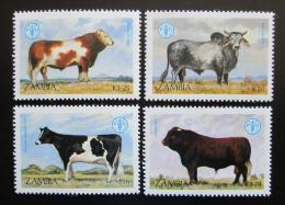 Poštovní známky Zambie 1987 Skot Mi# 429-32 Kat 7.50€ - zvìtšit obrázek