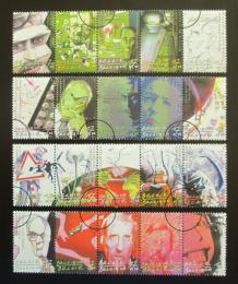 Poštovní známky Belgie 2001 Události 20. století Mi# 3074-93