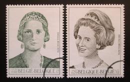 Poštovní známky Belgie 2000 Královny Mi# 2932-33