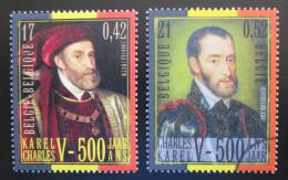 Poštovní známky Belgie 2000 Králové Mi# 2938-39