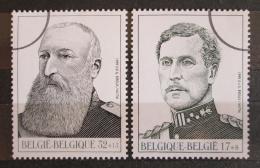 Poštovní známky Belgie 1999 Belgiètí králové Mi# 2845-46