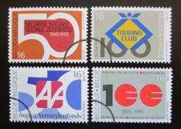 Poštovní známky Belgie 1995 Výroèí Mi# 2637-40