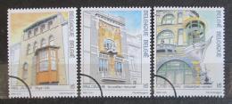 Poštovní známky Belgie 1995 Architektura Mi# 2656-58
