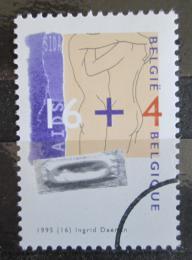 Poštovní známka Belgie 1995 Boj s AIDS Mi# 2672