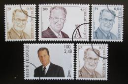 Poštovní známky Belgie 2001 Král Albert II. Mi# 3030-34 Kat 18€