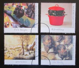 Poštovní známky Belgie 2001 Umìní Mi# 3054-57