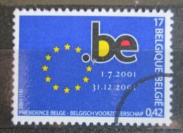 Poštovní známka Belgie 2001 Pøedsednictví v EU Mi# 3064