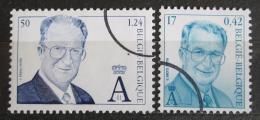 Poštovní známky Belgie 2000 Král Albert II. Mi# 3014-15