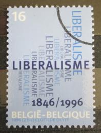 Poštovní známka Belgie 1996 Liberální strana, 150. výroèí Mi# 2680
