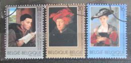 Poštovní známky Belgie 1996 Umìní Mi# 2707-09