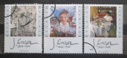 Poštovní známky Belgie 1999 Umìní, James Ensor Mi# 2881-83