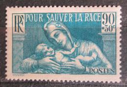 Poštovní známka Francie 1939 Matka s dítìtem Mi# 437 Kat 3.50€
