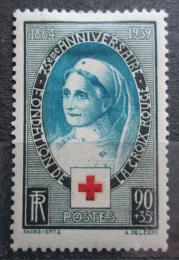Poštovní známka Francie 1939 Èervený køíž, 75. výroèí Mi# 440 Kat 12€