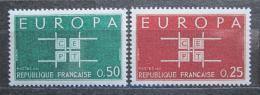 Poštovní známky Francie 1963 Evropa CEPT Mi# 1450-51