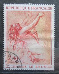 Poštovní známka Francie 1973 Umìní, Charles Le Brun Mi# 1828