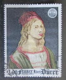 Poštovní známka Francie 1980 Umìní, Albrecht Dürer Mi# 2209