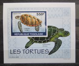 Poštovní známka Togo 2010 Želvy neperf. DELUXE Mi# 3426 B Block