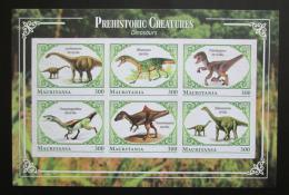 Poštovní známky Mauritánie 2018 Dinosauøi neperf. Mi# N/N
