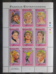 Poštovní známky Gambie 1993 Madona Mi# 1626-34 Kat 15€