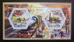 Poštovní známky Èad 2014 Lokomotivy svìta Mi# N/N