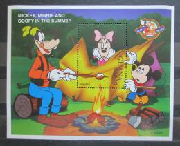 Poštovní známka Ghana 1998 Disney postavièky Mi# Block 344 Kat 10€