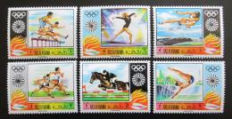Poštovní známky Rás al-Chajma 1970 LOH Mnichov Mi# 384-89 Kat 10€