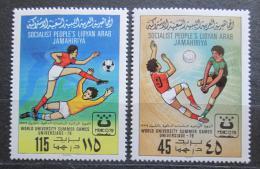 Poštovní známky Libye 1979 Univerziáda Mi# 752-53