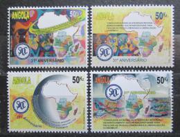 Poštovní známky Angola 2011 Spol. rozvoje jižní Afriky, 31. výroèí Mi# 1848-51