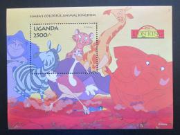 Poštovní známka Uganda 1994 Disney, Lví král Mi# Block 222