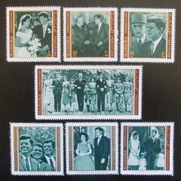 Poštovní známky Manáma 1971 Prezident John F. Kennedy Mi# 800-06 Kat 6.50€