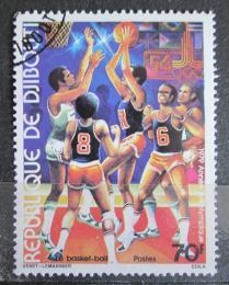 Poštovní známka Džibutsko 1979 LOH Moskva, basketbal Mi# 259