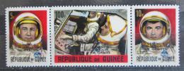 Poštovní známky Guinea 1965 Kosmonauti Mi# 302-03,307