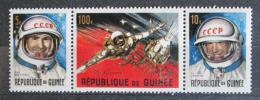 Poštovní známky Guinea 1965 Kosmonauti Mi# 308-09,313