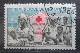 Poštovní známka Dahomey 1962 Èervený køíž Mi# 199