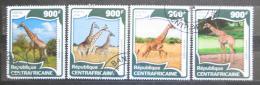Poštovní známky SAR 2016 Žirafy Mi# 5975-78 Kat 16€