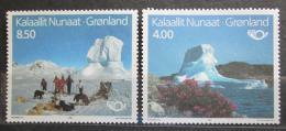 Poštovní známky Grónsko 1991 Turistické zajímavosti, NORDEN Mi# 217-18