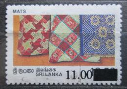 Poštovní známka Srí Lanka 1997 Lidové umìní pøetisk Mi# 1135 Kat 4€