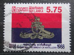 Poštovní známka Srí Lanka 1988 Dìlostøelectvo, 100. výroèí Mi# 819