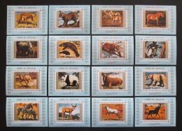 Poštovní známky Umm al-Kuvajn 1972 Fauna DELUXE Mi# 1370-85 Kat 32€