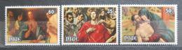 Poštovní známky Niue 1981 Velikonoce, umìní Mi# 412-14