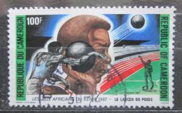 Poštovní známka Kamerun 1987 Africké hry, Nairobi Mi# 1150