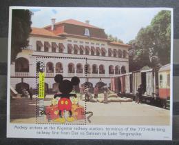 Poštovní známka Tanzánie 1994 Disney, Mickey Mouse Mi# Block 241