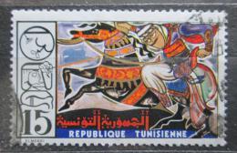 Poštovní známka Tunisko 1975 Nástìnný koberec Mi# 854