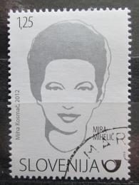 Poštovní známka Slovinsko 2012 Mira Miheliè, spisovatelka Mi# 947