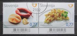Poštovní známky Slovinsko 2012 Místní kuchynì Mi# 981-82