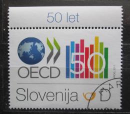 Poštovní známka Slovinsko 2011 OECD, 50. výroèí Mi# 899