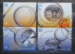 Poštovní známky Slovinsko 2005 Evropa CEPT Mi# 543-46