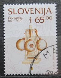 Poštovní známka Slovinsko 1996 Sklenìná lampa Mi# 137