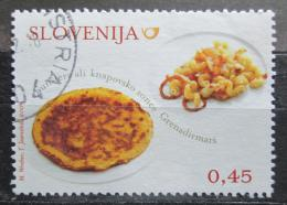 Poštovní známka Slovinsko 2009 Místní kuchynì Mi# 748