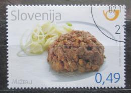 Poštovní známka Slovinsko 2010 Místní kuchynì Mi# 874
